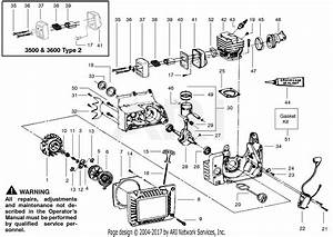 Poulan 3500 Gas Saw Parts Diagram For Internal Power Unit