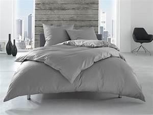 Bettwäsche Uni Grau : hotelbettw sche baumwolle grau bettwaesche mit stil ~ Whattoseeinmadrid.com Haus und Dekorationen