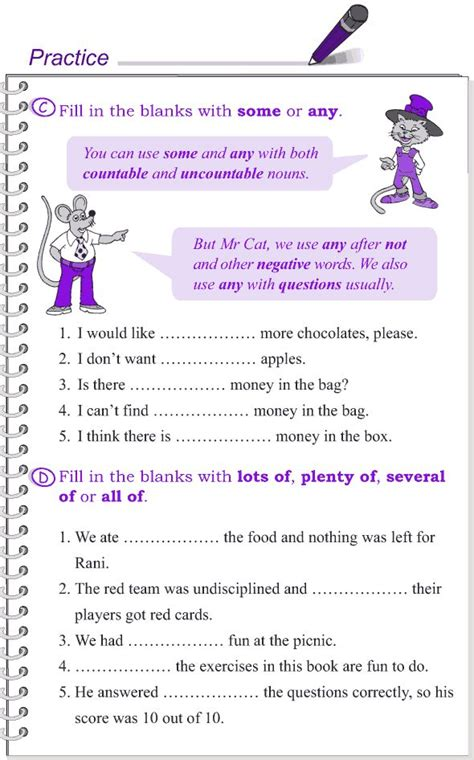 grade  grammar lesson  determiners  english