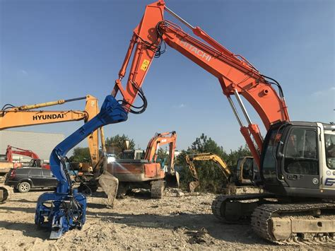 rpm sheet pile driving machine hydraulic sheet pile driver compact structure