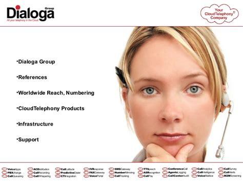DIALOGA GROUP - CloudTelephony Services Presentation