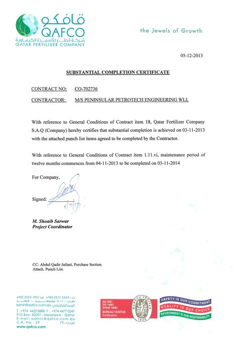 Jct Practical Completion Certificate Template by Jct Completion Certificate Template Gallery Certificate