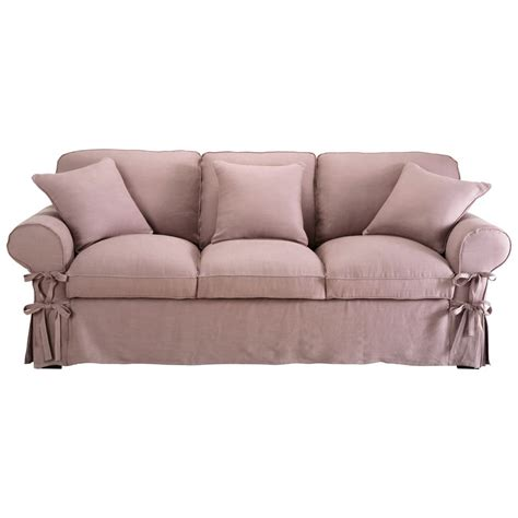 canap 233 convertible 3 places en mauve butterfly
