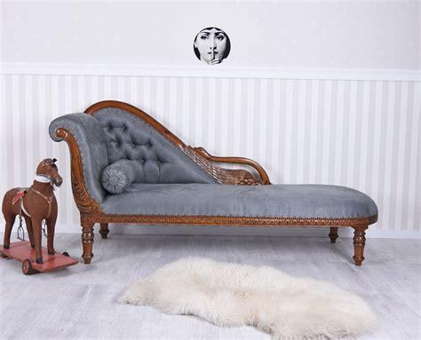 Empire Sofa Madame Recamier Chaiselongue Liege Antik