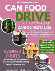 Food Drive Template | PosterMyWall