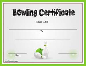 Download bowling certificate template for free formtemplate for Bowling certificate