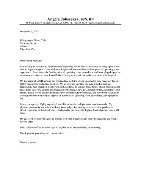 nursing cover letter resume exles templates nursing cover letter exle