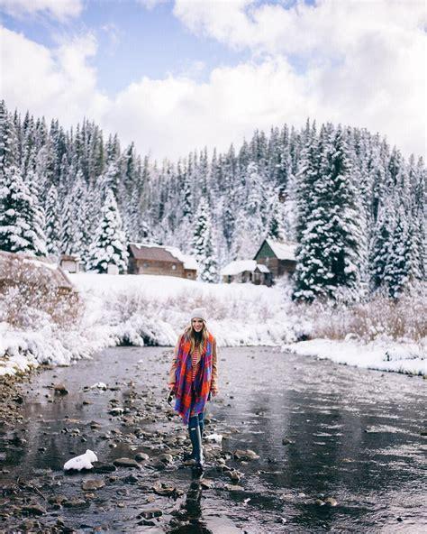In a winter wonderland #colorado #duntonhotsprings #