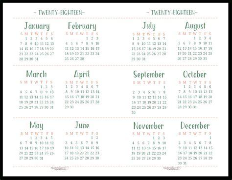 printable calendar scattered squirrel ten  printable