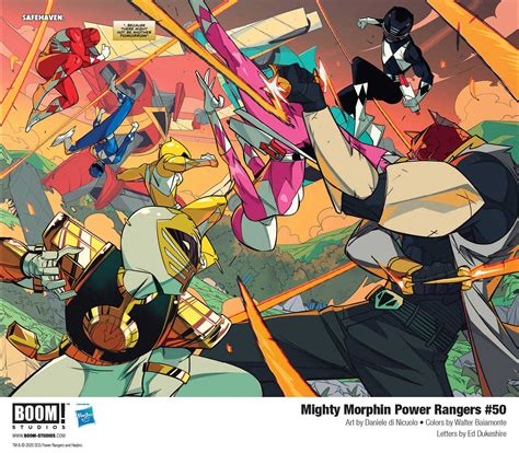 [First Look] Mighty Morphin Power Rangers #50 — Major ...
