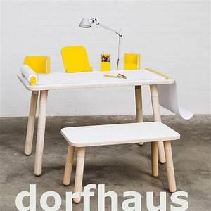 Kindertisch Und Stühle Holz : set kindertisch und bank growing table wei design kinderm bel ~ Markanthonyermac.com Haus und Dekorationen