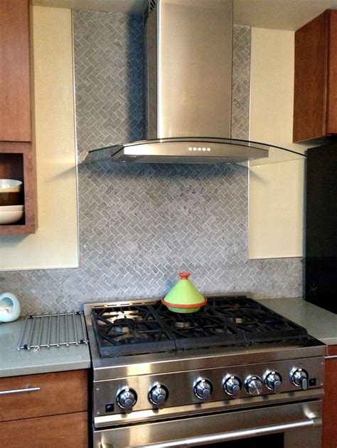herringbone kitchen backsplash herringbone stone tile backsplash kitchen2b pinterest