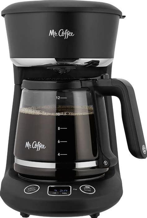 Coffee 12 cup red coffee maker, 1 each. Mr. Coffee - 12-Cup Coffee Maker with LED Display - Black ...