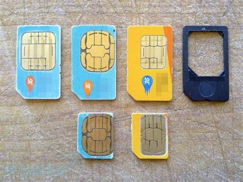 micro sim karte