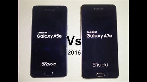 samsung galaxy a7 2016 vs samsung galaxy a5 2016