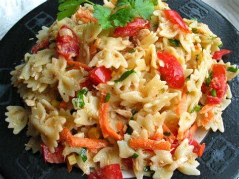 healthy pasta salad healthy tuna and pasta salad recipe food com