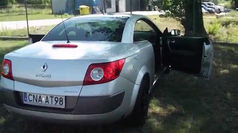 renault megane 2 cabrio renault megane ii cabrio sprzedam
