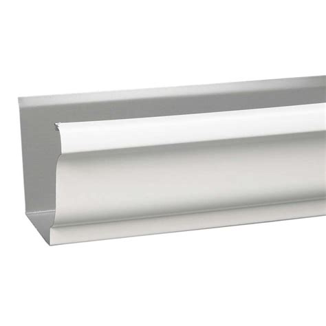 vinyl gutters lowes shop amerimax 5 5 in x 120 in k style gutter at 3278