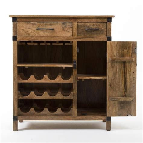 rustic wine cabinet rustic industrial wine cabinet our home