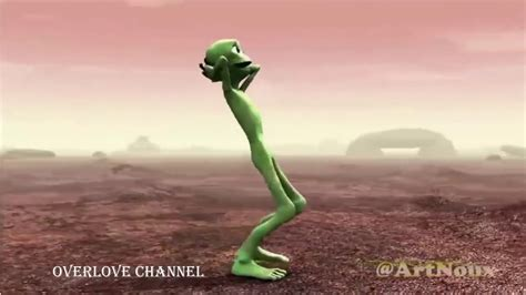 dame tu cosita green alien dance official  video