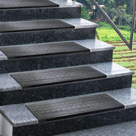 couvre marche d escalier marchettes d escalier ext 233 rieur en caoutchouc antid 233 rapant 2 tailles tapistar fr
