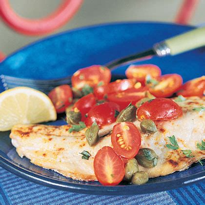 snapper rockfish recipes pacific topping caper tomato aka recipe diabetic health friendly cod tasty rock capers ingredients tomatoes oh fish
