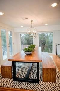 idee relooking cuisine meuble de salle a manger table With deco cuisine pour table fer et bois salle manger