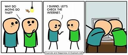 Comics Happiness Cyanide Funny Cartoons Explosm Strips