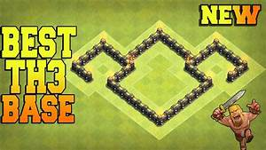 New Best Town Hall 3  Th3  Base Trophy Base    Farming Base    War Base - Clash Of Clans