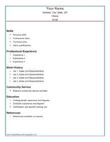 combination resume template 2017 combination resume template