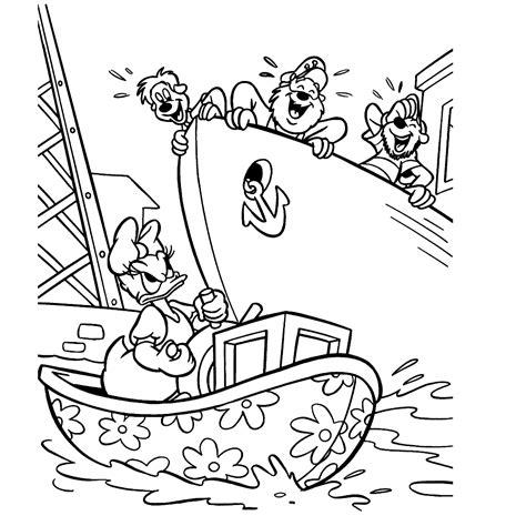 Kleurplaat Donald Duck Met Taart by Katrien Duck Kleurplaten Kleurplatenpagina Nl