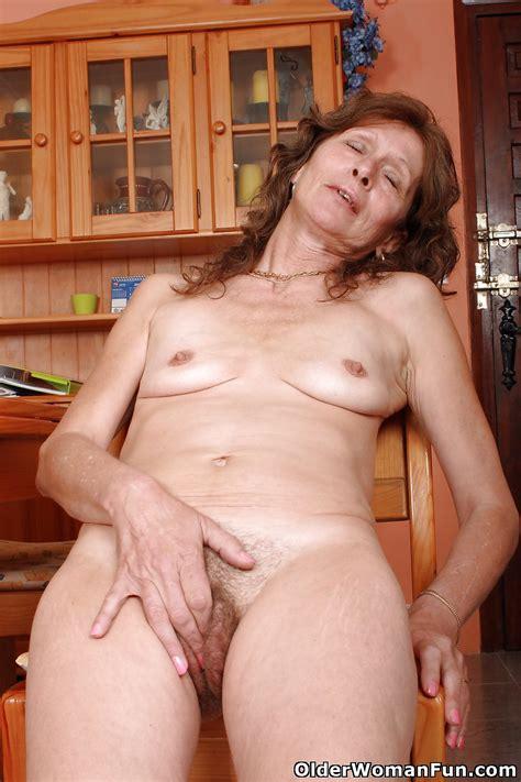 57 Year Old British Granny Vikki From Olderwomanfun 16