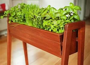 Jardiniere Interieur : mini jardini res et pots d int rieur aux herbes aromatiques ~ Melissatoandfro.com Idées de Décoration