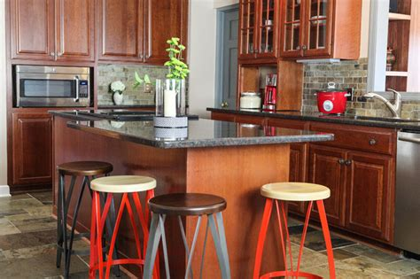 1940s kitchen cabinets ve eclectic kitchen columbus by julie ranee 1029