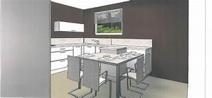 Colonne D Angle Cuisine : les projets implantation de vos cuisines 8700 messages page 553 ~ Teatrodelosmanantiales.com Idées de Décoration