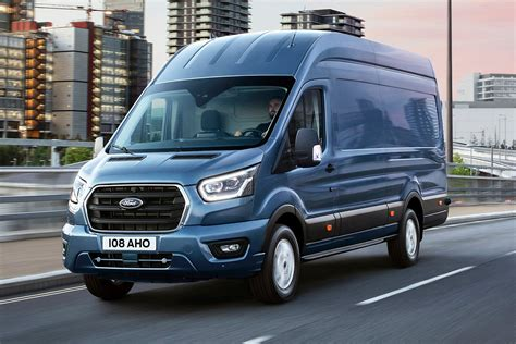 New Ford Transit Facelift Revealed
