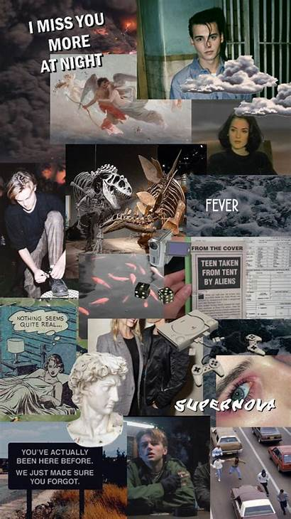 90s Grunge Aesthetic Collage Wallpapers Background Phone