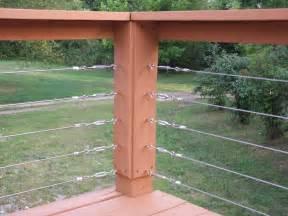 diy cable railing front porch pinterest cable