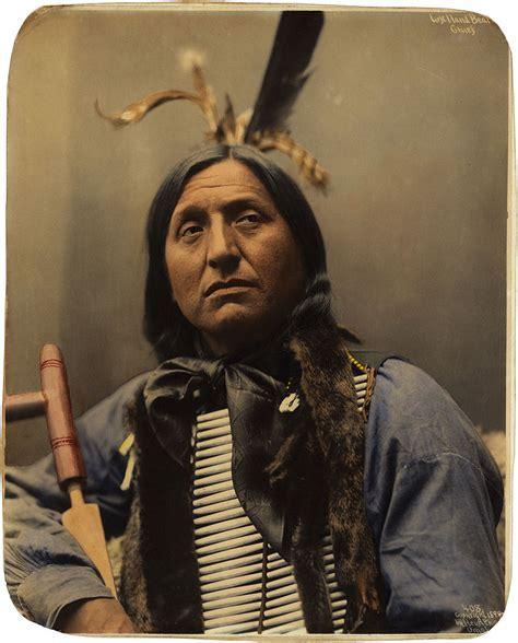 Fileleft Hand Bear, Oglala Sioux Chief, By Heyn Photo