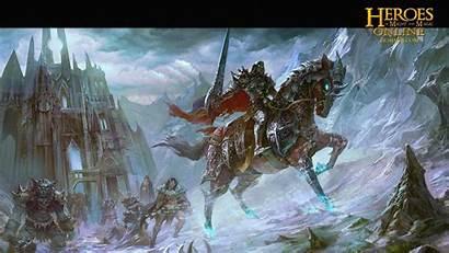 Magic Might Heroes Wallpapers Knight Fantasy Warrior