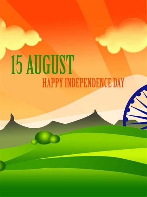 15 August HD 4k Wallpaper- Happy Independence Day