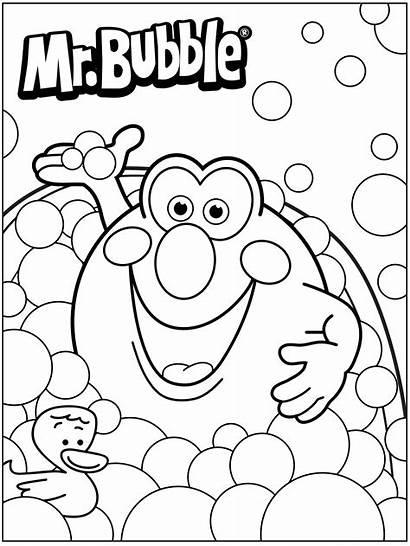 Coloring Pages Bubble Bath Fun Mr Colouring