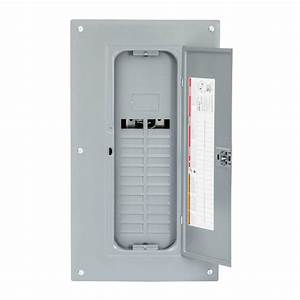 Square D Homeline 125 Amp 24