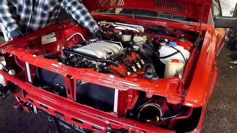V8 Audi 40V 4.2 in a 1985 4000s QUATTRO - YouTube