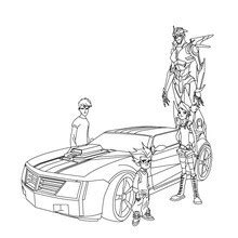 coloriage transformers coloriages coloriage  imprimer