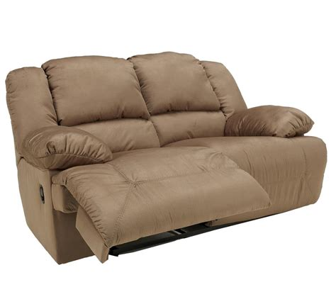 ashley signature design hogan mocha reclining loveseat