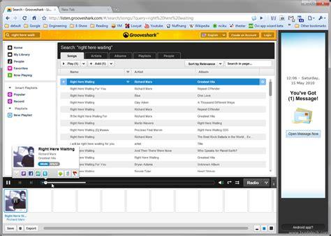Grooveshark Listen To Free Mp3 Online Bust A Tech