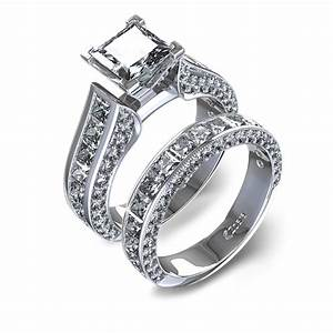 Wedding ring sets for women wedding rings ideas for Ladies diamond wedding ring sets