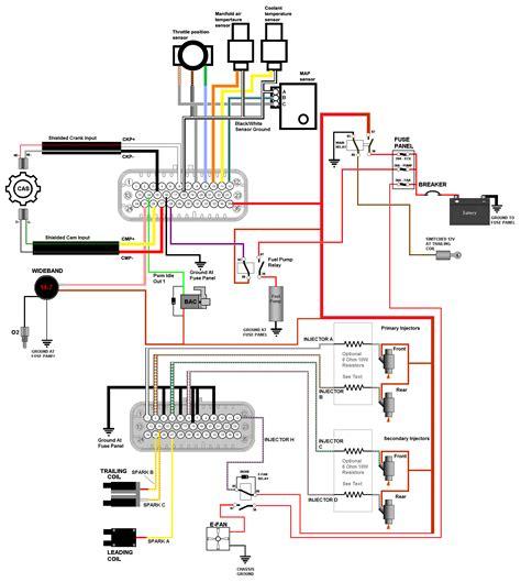How Megasquirt Your Gen Wire The Ecu Panel