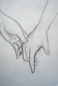 Drawing of holding hands...awwwwww | L VE | Pinterest ...
